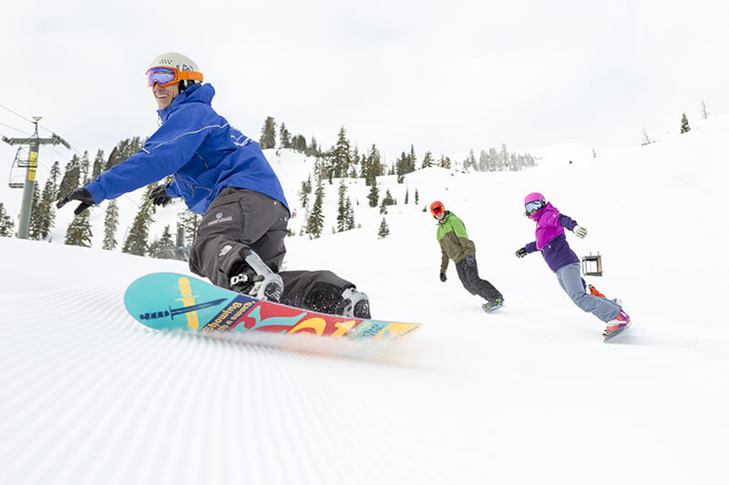 Squaw Valley Alpine Meadows, California Resort