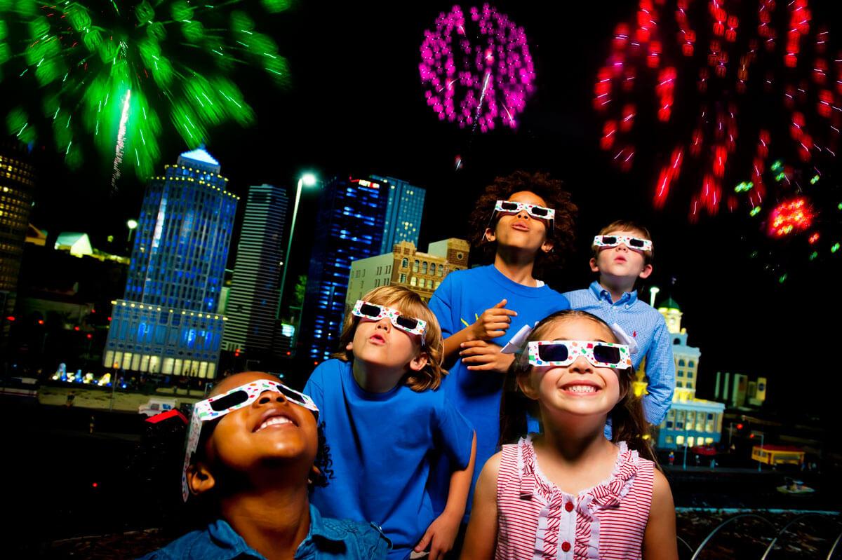 Kids New Year's Eve at Disney World and beyond - LEGOLAND Florida