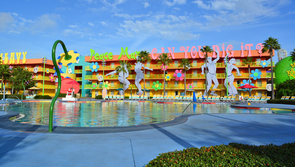 Best Disney World Hotels For Families S Pop Century Resort