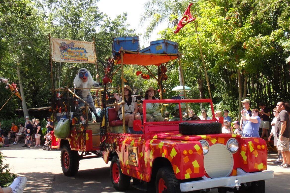 Walt Disney World Parade Guide: Mickey's Jammin' Jungle Parade at Disney's Animal Kingdom