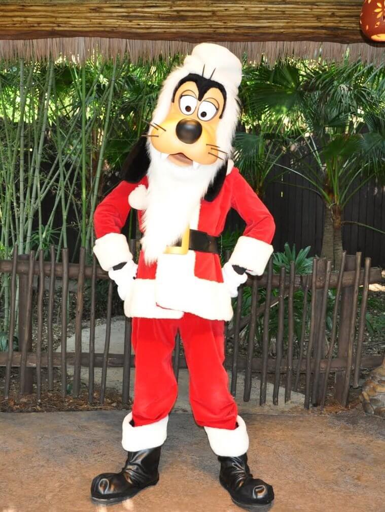 Santa Goofy's Holiday Village at Disney's Animal Kingdom