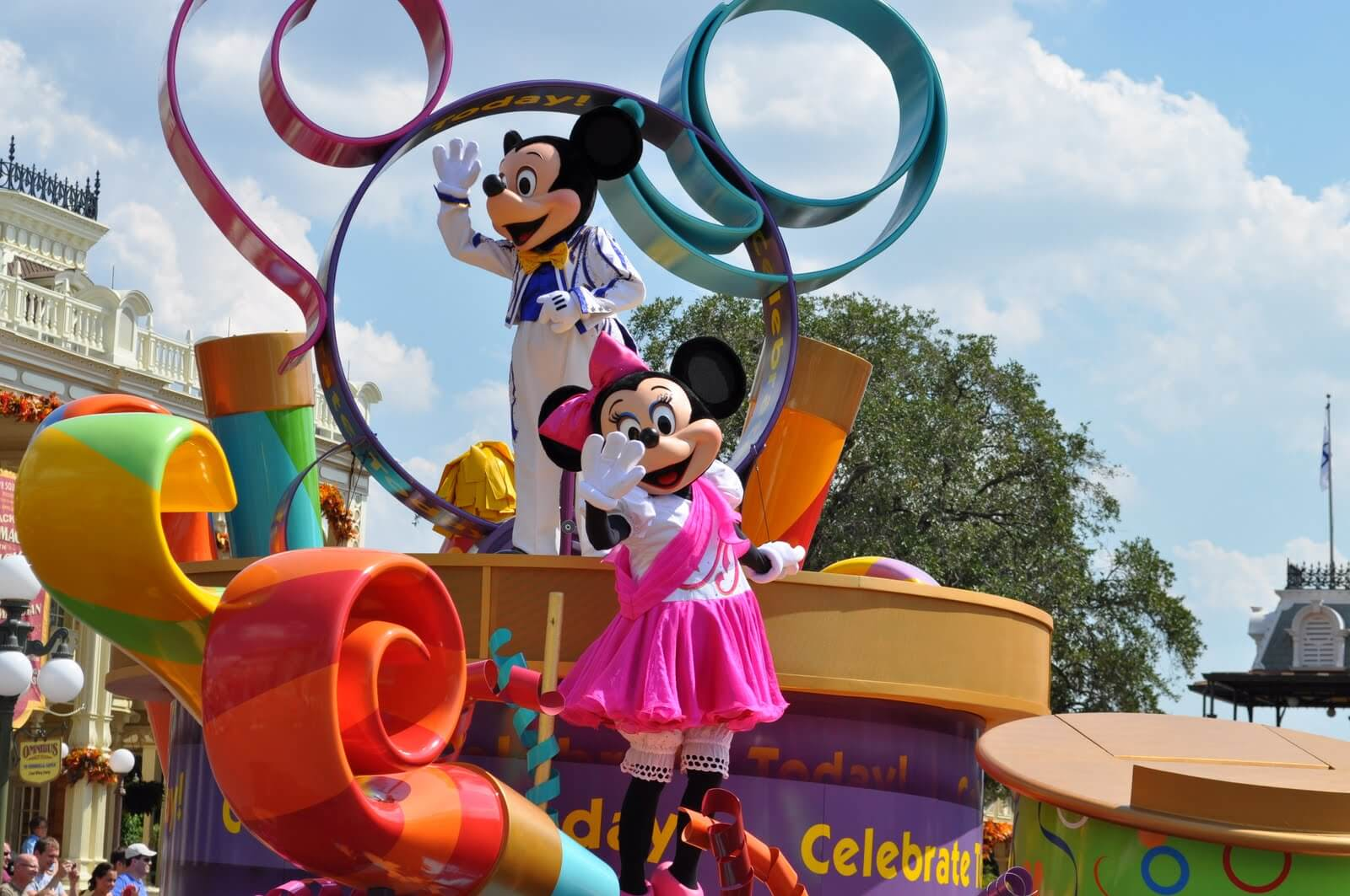 Walt Disney World Parade Guide: Celebrate a Dream Come True Parade at Magic Kingdom