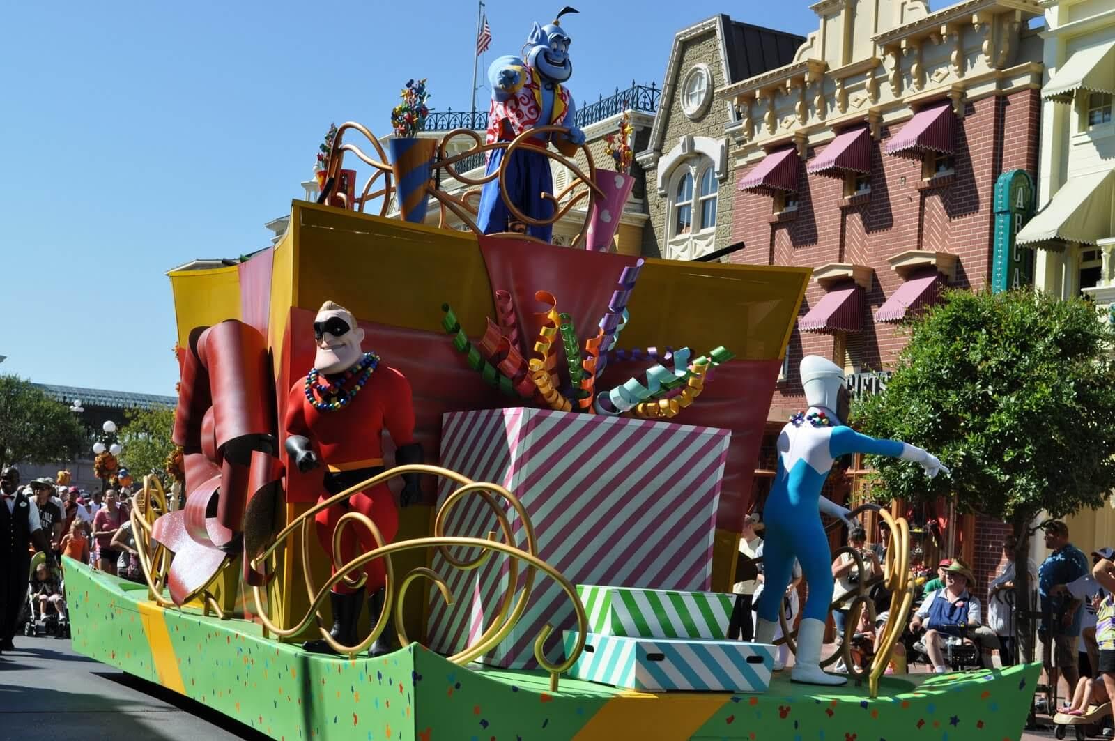 Walt Disney World Parade Guide: Move It! Shake It! Celebrate It! Street Party at Magic Kingdom