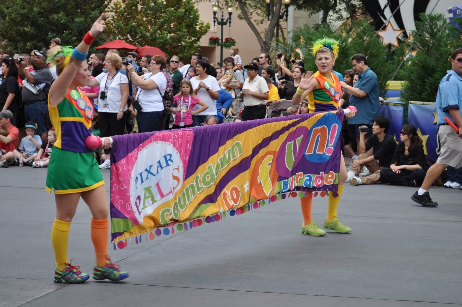 Walt Disney World Parade Guide: Pixar Pals Countdown to Fun! Parade at Hollywood Studios