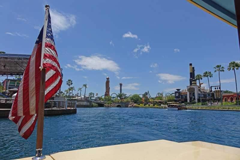 Official Universal Orlando Hotels - Universal Studios Hotel - Boat Transportation at Universal CityWalk