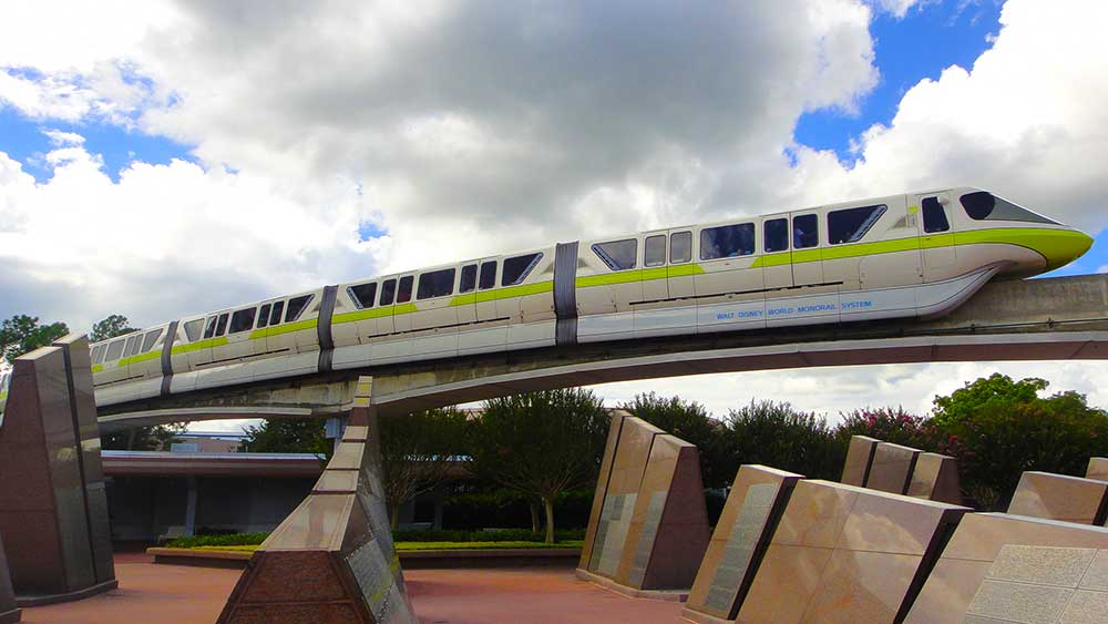 Epcot Transportation - Monorail