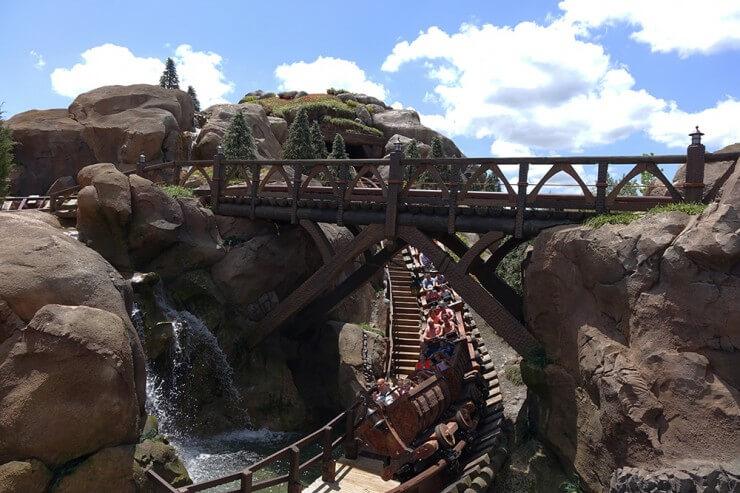 7 dwarfs mine train coaster height requirements for disney world rides