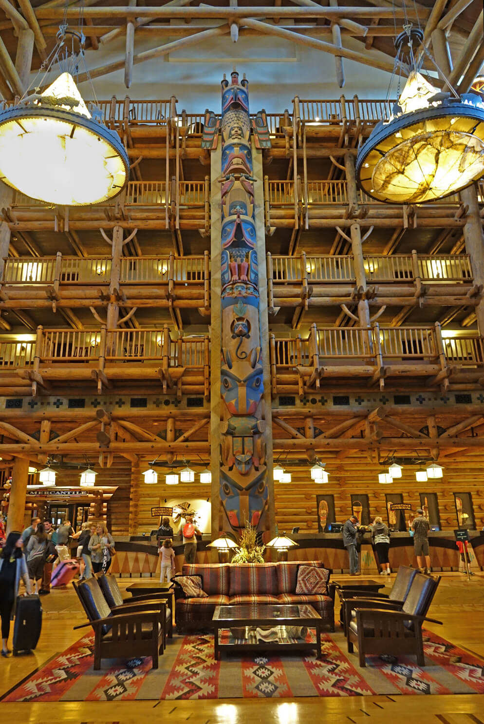 Disney's Deluxe Resorts - Disney's Wilderness Lodge