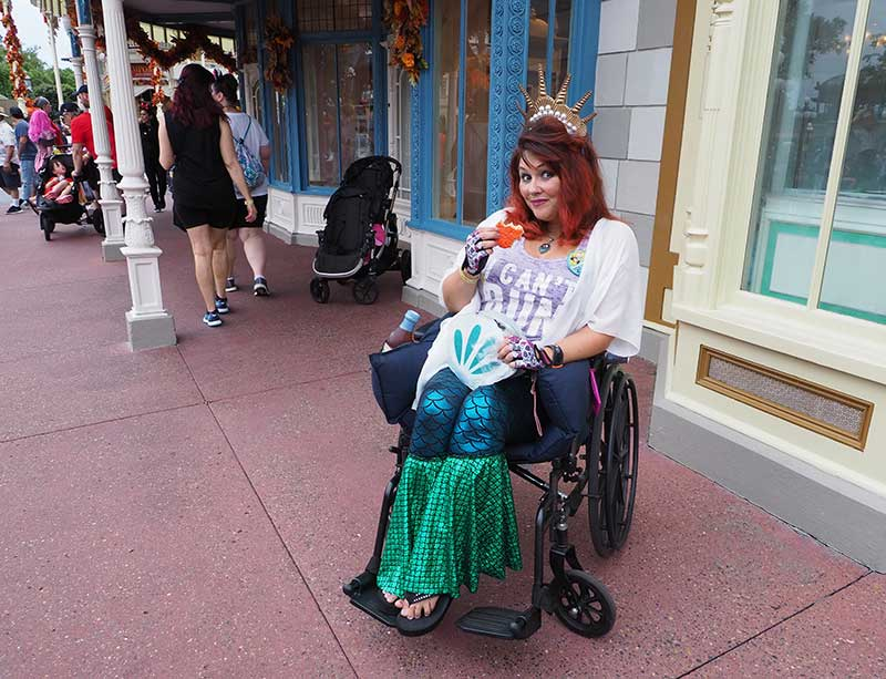 Guide to Using a Wheelchair or ECV at Disney World