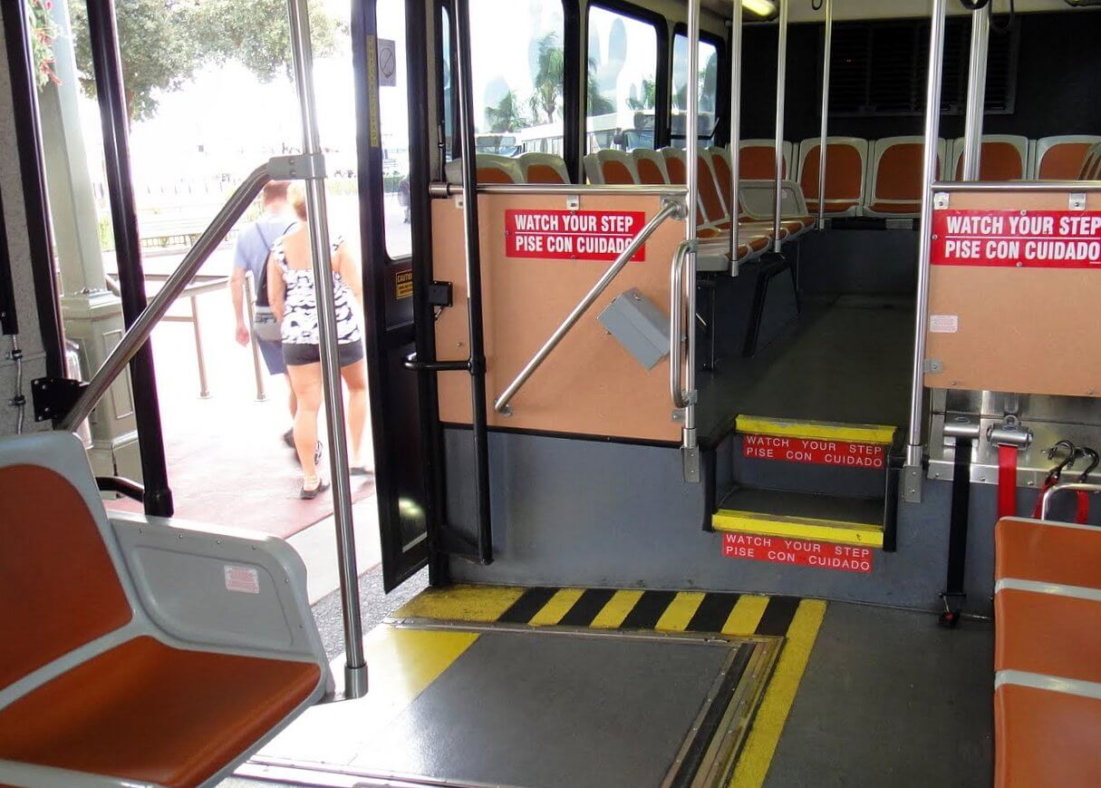 Wheelchair Accessibility on Disney Buses