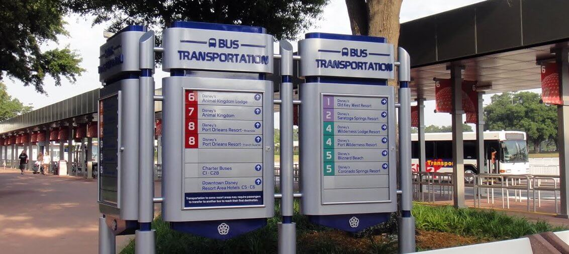 Sit Back & Enjoy the Ride...Complimentary Tranportation for Epcot