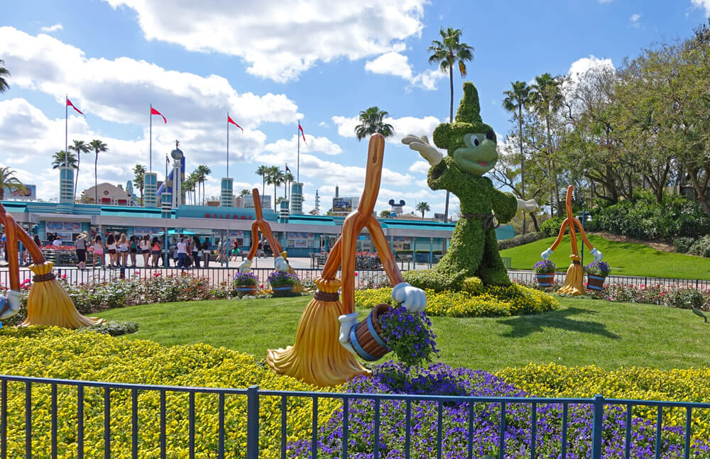 Surprise! We're Going to Disney World - Disney's Hollywood Studios Entrance