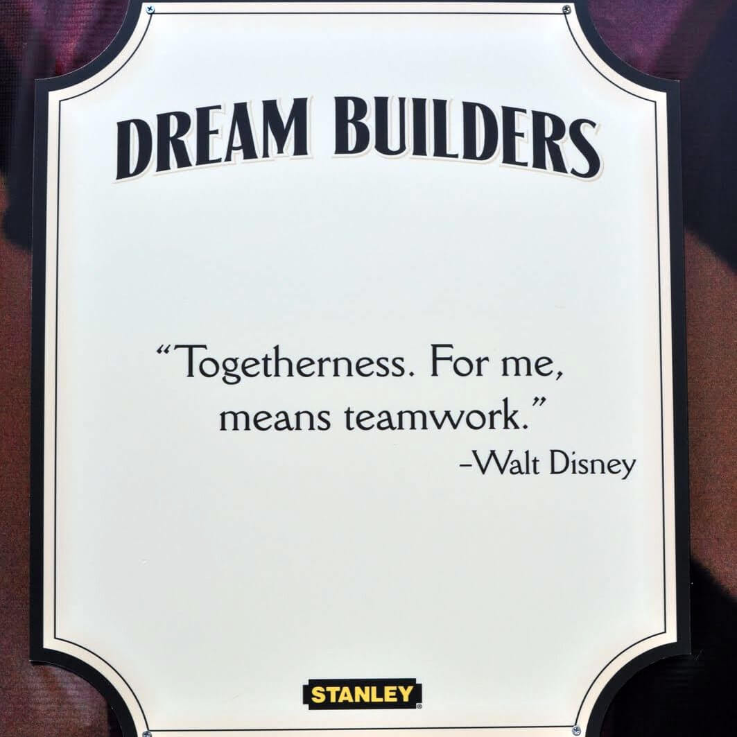 When Closed Rides Inspire 10 Disney Quotes Courtesy of Dream – Builders Quotation