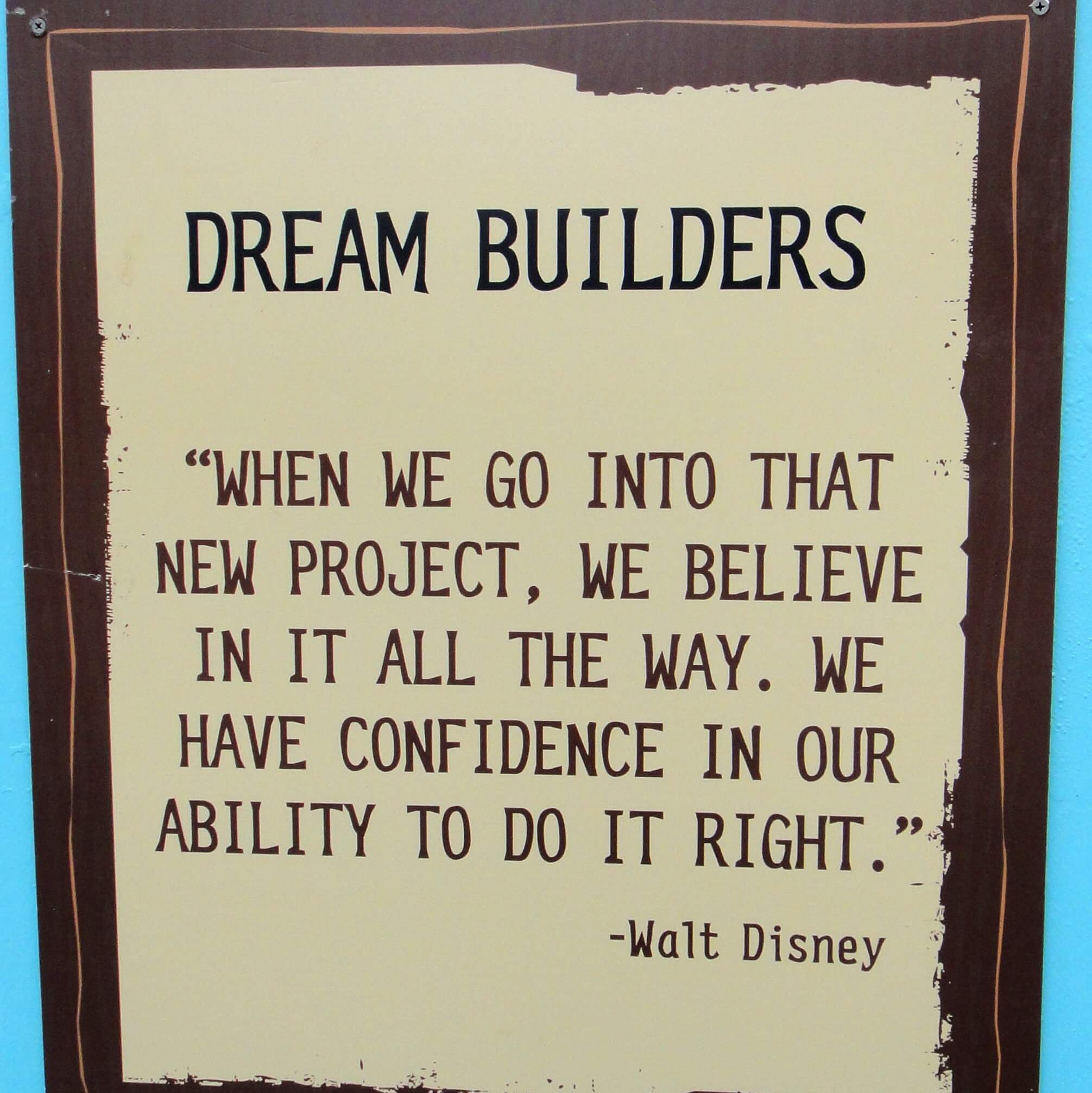 Dream Quotes When Closed Rides Inspire  10 Disney Quotes Courtesy Of Dream
