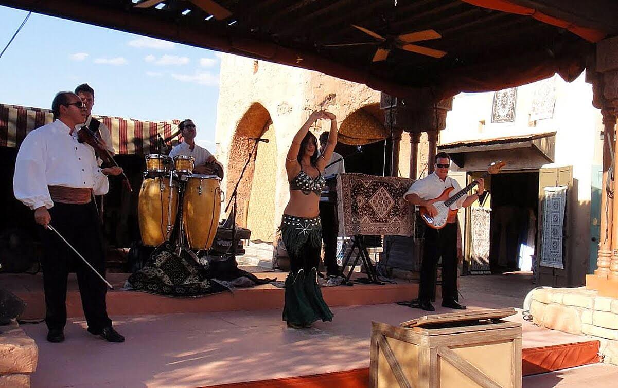 Mo'Rockin in Morocco Pavilion at Epcot