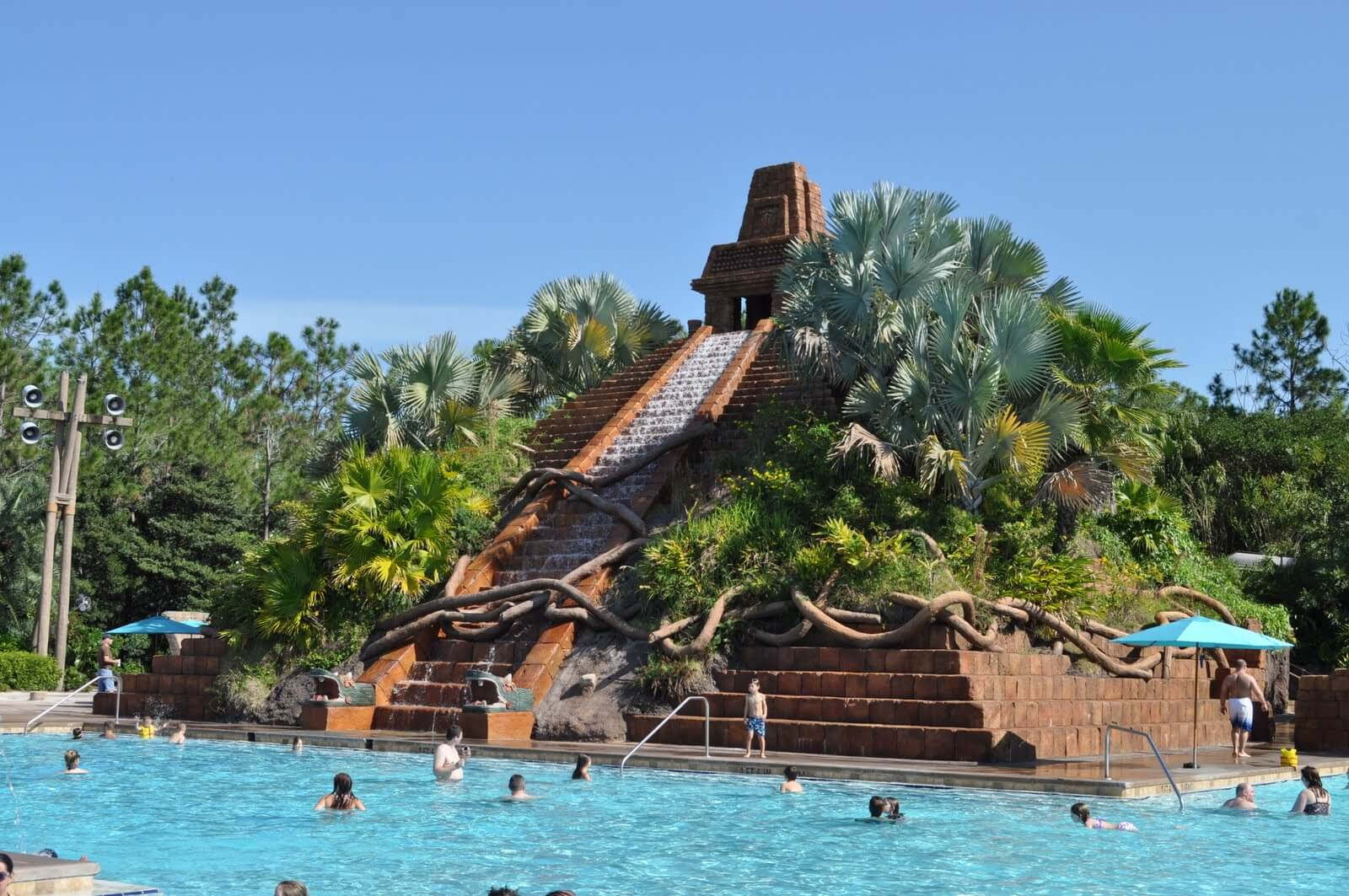 The Dig Site Pool Complex at Disney's Coronado Springs Resort