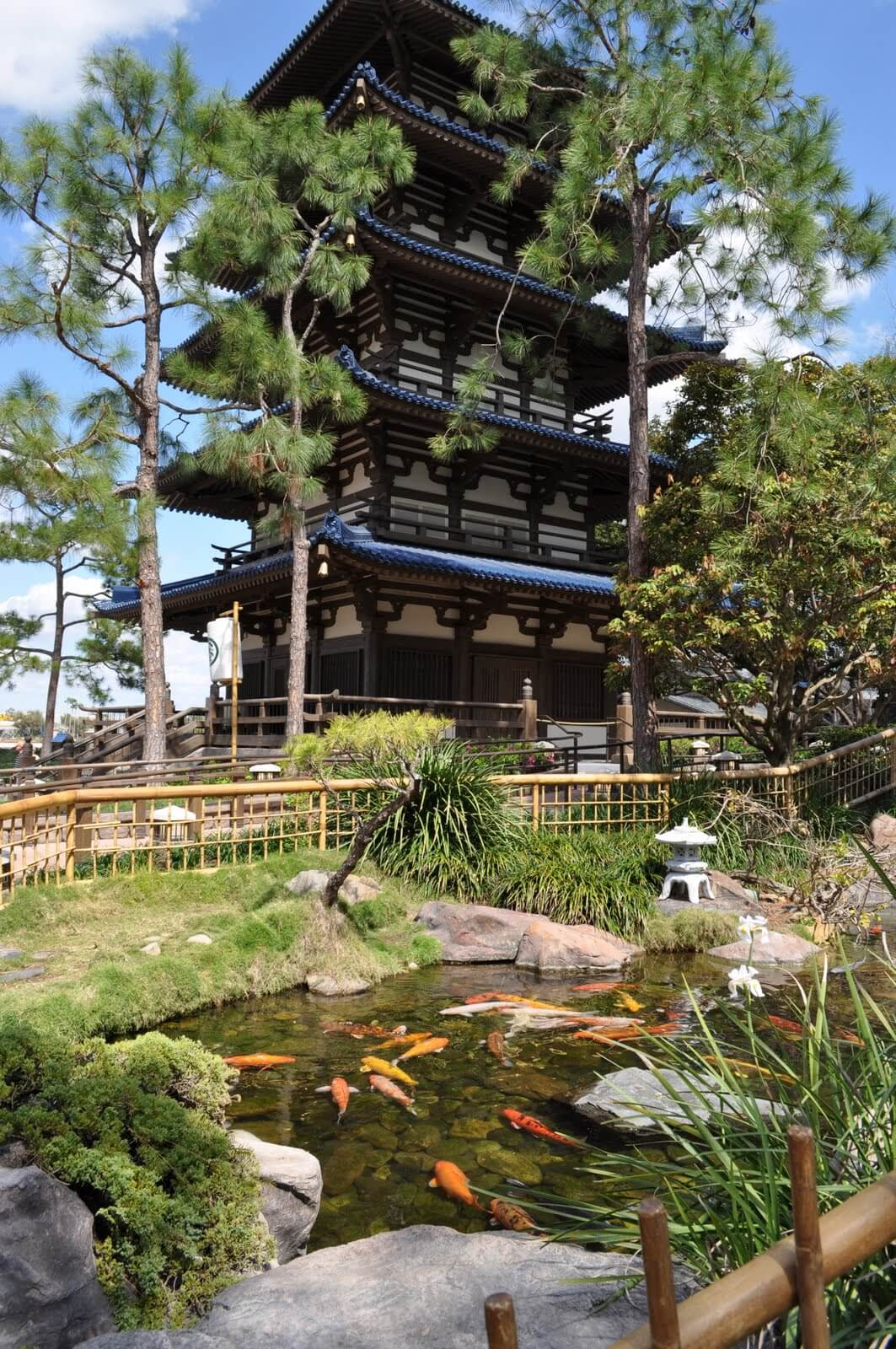 Japan Pavilion at Epcot