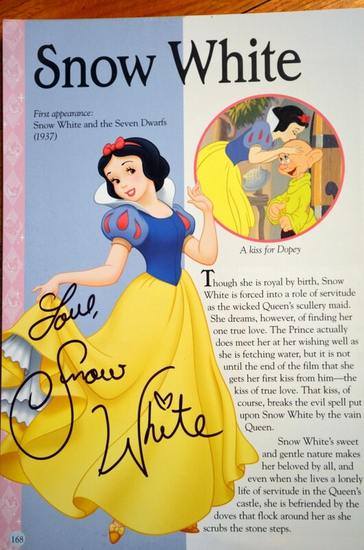 Storybook for Autographs
