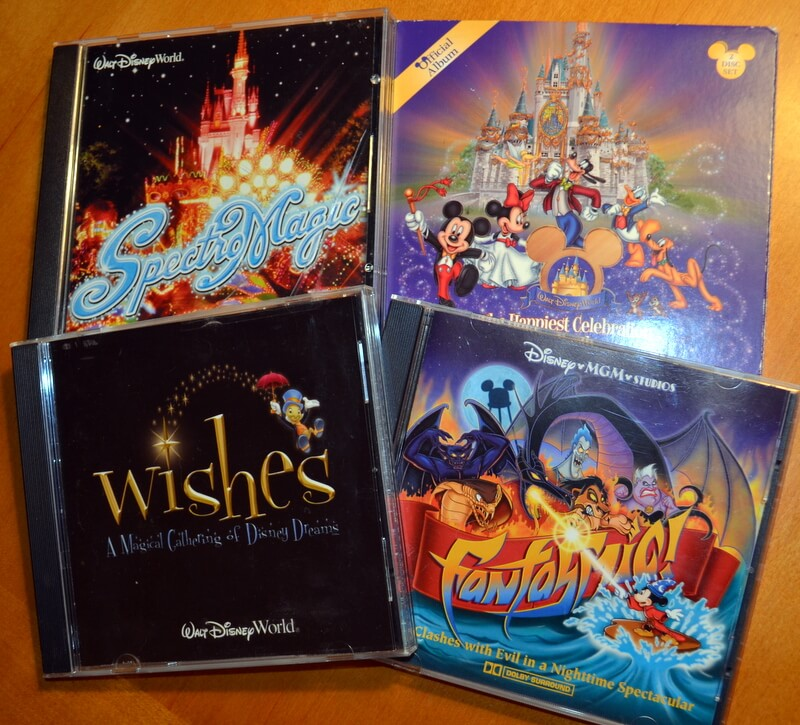 Theme Park Soundtracks on CD