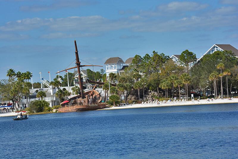 Taking Walt Disney World By (In, On or Near) Water - Beach and Yacht Club