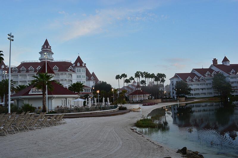 Taking Walt Disney World By (In, On or Near) Water - Grand Floridian Beach