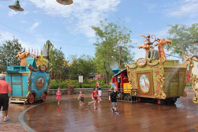 Casey Jr. Splash 'N' Soak Station at Storybook Circus in Walt Disney World's Magic Kingdom® Park