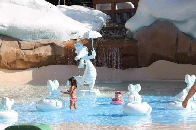 Splash Zone at Walt Disney World's Blizzard Beach