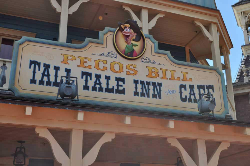 Magic Kingdom Restaurant Pecos Bill Tall Tale Inn Cafe