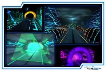 Epcot's Test Track Presented by Chevrolet