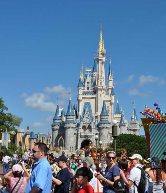 Cinderella Castle at Magic Kingdom® Park