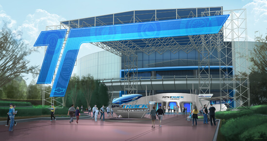 Test Track's New Look to Be Revealed This Week!