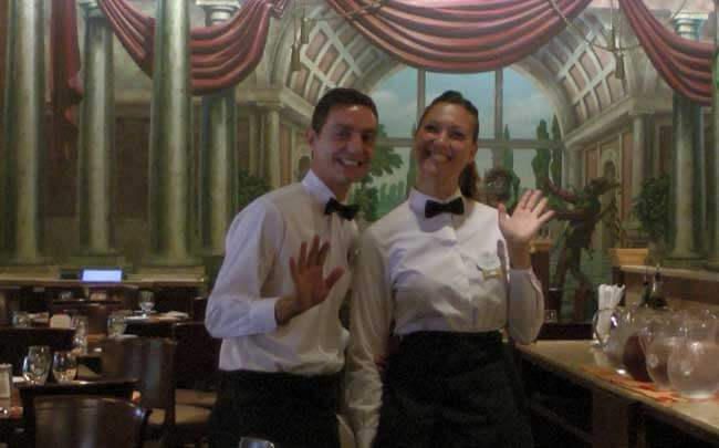 Waiters at Tutto Gusto at Epcot®