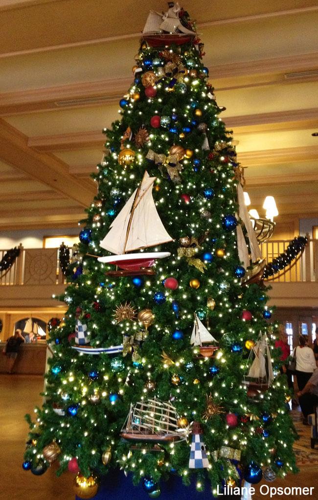 Yacht Club Christmas Tree