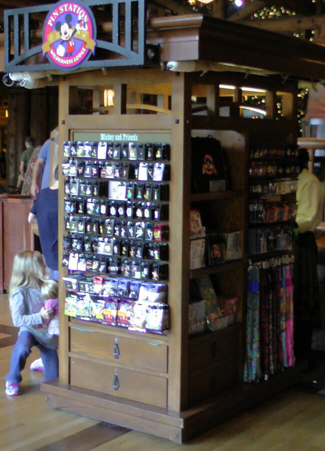 Pin Trading at Disney's Wilderness Lodge
