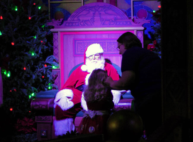 Santa at Downtown Disney