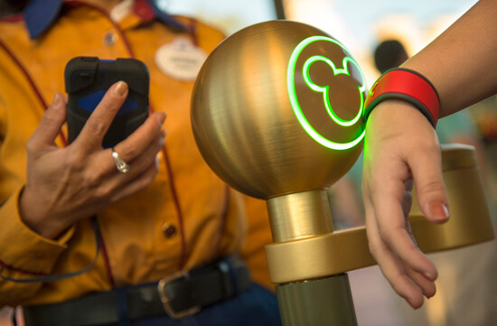 Disney World RFID tickets