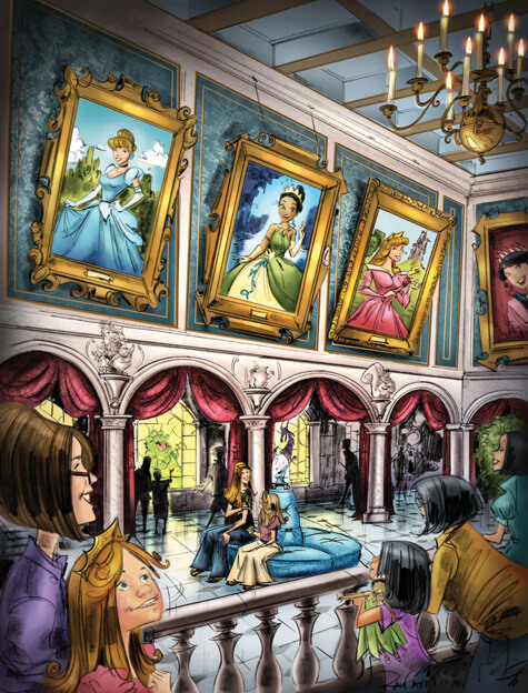 Disney & Parks News: A Princess Mystery in New Fantasyland; Disney Dining Plan Changes