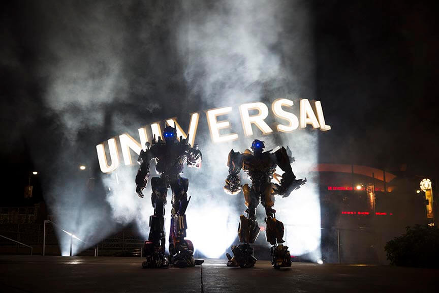 Universal Announces Transformers Grand Opening June 20