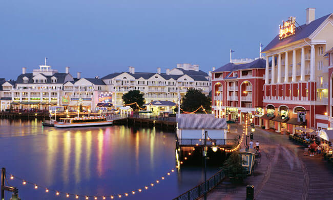 Disney Boardwalk via Disney Parks Blog