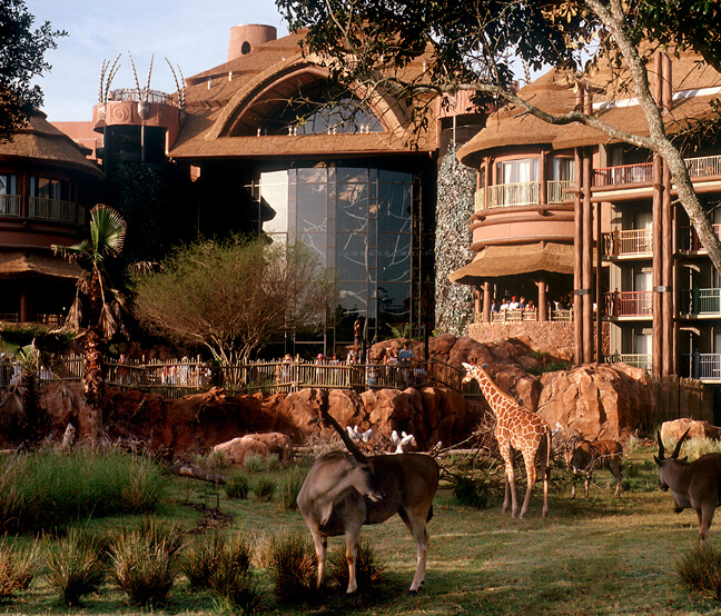 Disney's Animal Kingdom Lodge via Disney Parks Blog