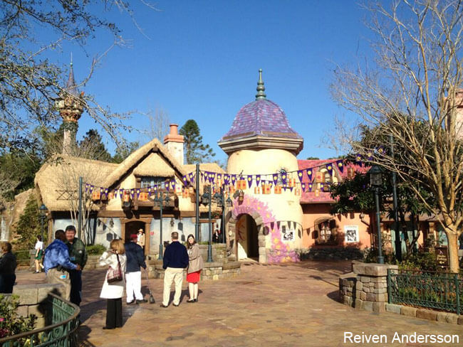 Disney Parks & News: Tangled Bathrooms Open at Magic Kingdom; Epcot Festival Finally Blooms