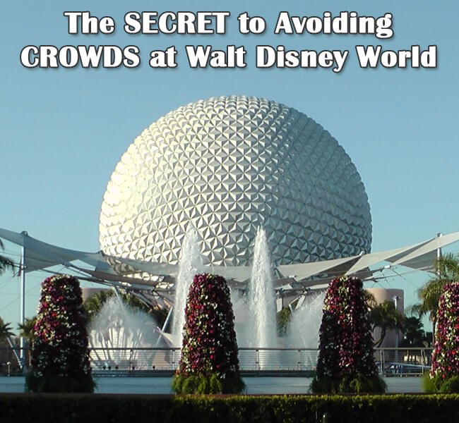 The SECRET to Avoiding Disney World CROWDS