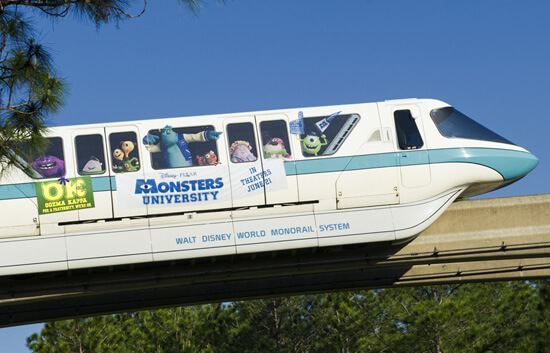 Monsters monorail