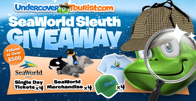 Enter Our SeaWorld Sleuth Giveaway for 4 Park Tickets + More Goodies