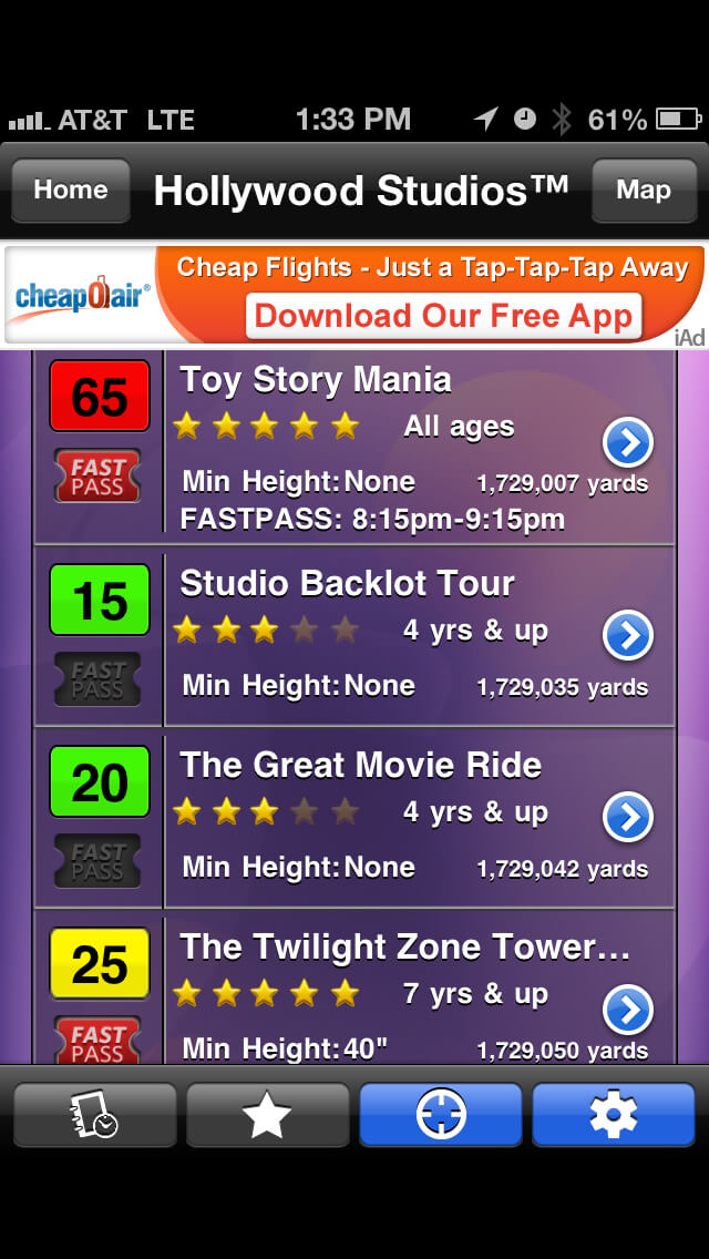Fastpass Return Times Now Available on Our Disney World Wait Times App!