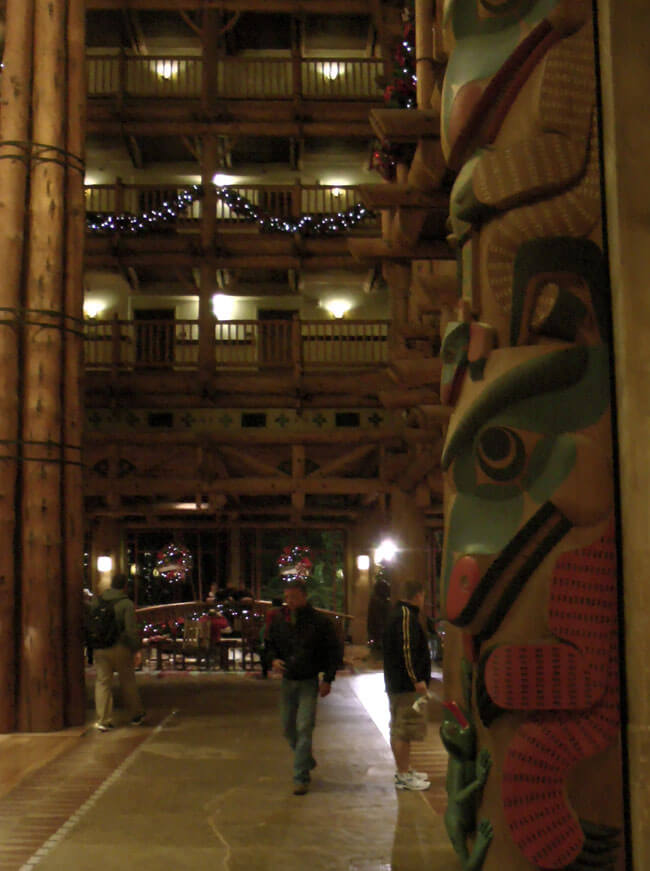 Disney's Wilderness Lodge Totem Pole