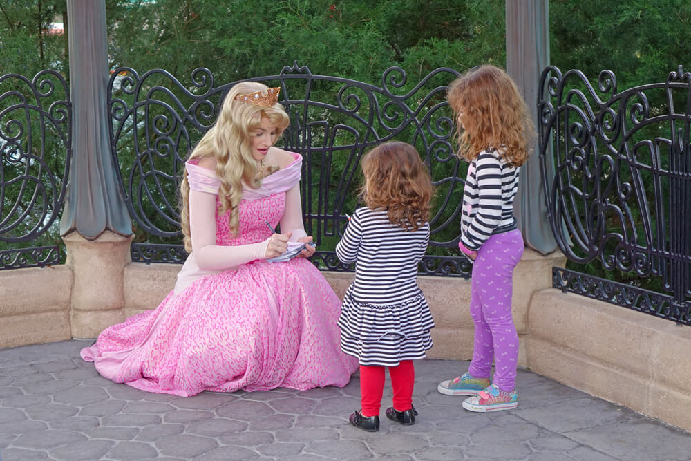 Easy-Does-It Tips to Help a Child Afraid of Disney Characters - Aurora
