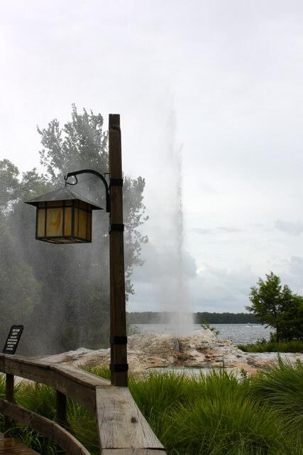 Disney's Wilderness Lodge Geyser