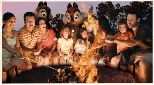 Smores with Chip and Dale
