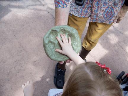 Fossil at DIsney's Animal Kingdom